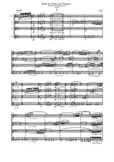 Ganz im Sinne des Tangos..., Op.49: Ganz im Sinne des Tangos... by Evgeni Orkin