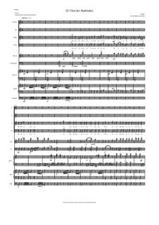Aton: Teil 28 - Chor, Tenor solo, Streicher, Klavier, Harfe, Timpani by David W Solomons