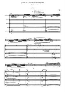 Quintett für Klarinette und Streichquartett, Op.43: Quintett für Klarinette und Streichquartett by Evgeni Orkin