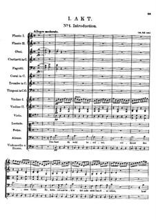 Claudine von Villa Bella, D.239: Nr.1 Introduktion by Franz Schubert