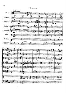Claudine von Villa Bella, D.239: Nr.4 Arie by Franz Schubert