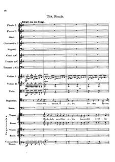 Claudine von Villa Bella, D.239: Nr.8 Finale by Franz Schubert