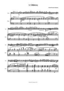 Complete set: Für Cello und Klavier by folklore, David W Solomons