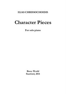 Character Pieces: Character Pieces by Ilias Chrissochoidis