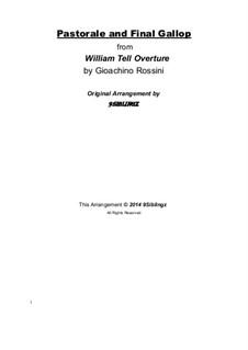 Ouvertüre: Für Streichorchester by Gioacchino Rossini