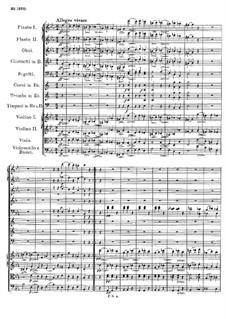 Sinfonie Nr.4 in c-Moll 'Tragische', D.417: Teil III by Franz Schubert