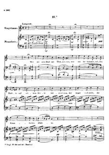 Nr.2 Wer nie sein Brot mit Tränen ass: A-moll by Franz Schubert