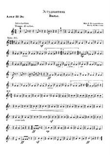 Estudiantina, Op.191: For wind band by Emil Waldteufel
