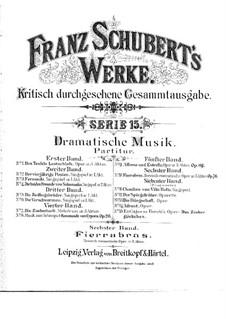 Fierrabras, D.796: Ouvertüre by Franz Schubert