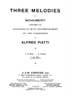 Nr.12 Am Meer: Für Cello und Klavier by Franz Schubert