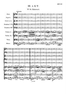 Die Bürgschaft. Oper, D.435: Akt III by Franz Schubert