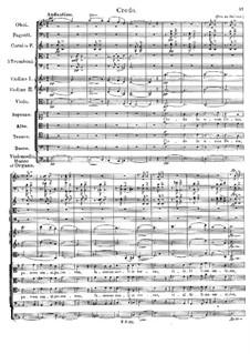 Messe Nr.1 in F-Dur, D.105: Credo by Franz Schubert