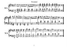 Acht Ecossaisen für Klavier, D.529: Ecossaisen Nr.4-8 by Franz Schubert