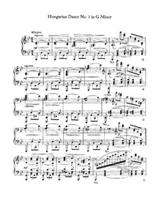 Nr.1-10: Für Klavier by Johannes Brahms