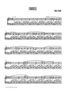 Piano book: Piano book by Karolis Biveinis