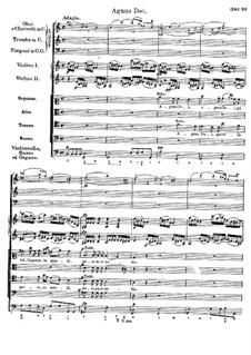 Messe Nr.4 in C-Dur, D.452: Agnus Dei by Franz Schubert