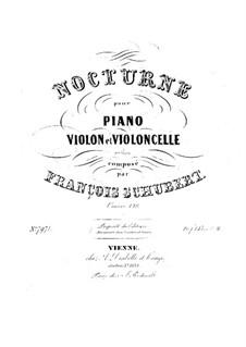 Nokturne für Klavier, Violine und Cello, D.897 Op.148: Vollpartitur, Stimmen by Franz Schubert