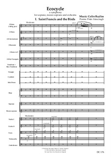 Ecocyle: Separate instrumental parts by Colin Bayliss