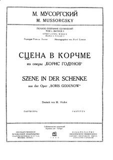 Fragmente: Akt I Szene II by Modest Mussorgski