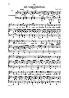 Lieder für Stimme und Klavier: Band II, Teil III by Franz Schubert