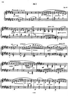 Zwei Mazurkas, Op.40: Mazurka No.2 by Alexander Skrjabin