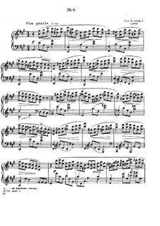 Zwölf Etüden, Op.8: Etüde No.6 by Alexander Skrjabin