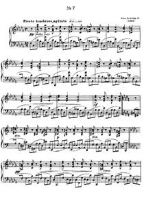 Zwölf Etüden, Op.8: Etüde No.7 by Alexander Skrjabin