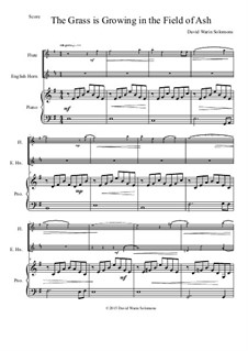 The grass is growing: For flute, cor anglais and piano by David W Solomons