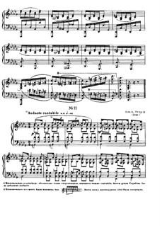 Zwölf Etüden, Op.8: Etüde No.11 by Alexander Skrjabin