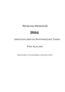 Variationen zu IRINI: Variationen zu IRINI by Reimund Merkens