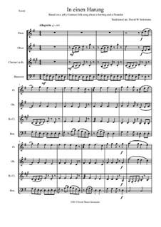 In einen Harung: Für Holzbläserquartette by folklore, David W Solomons