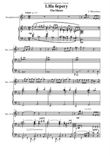 Two melodies: For saxophone and piano by Sergei Zheludkov