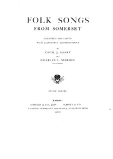 Volkslieder: Buch III by Cecil Sharp