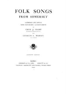 Volkslieder: Buch II by Cecil Sharp