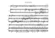 Piece for Oboe and Piano, MWVW 864: Piece for Oboe and Piano by Maurice Verheul