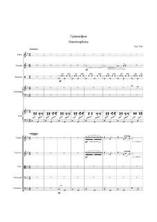 Waltz 'Grammophone': Für Orchester by Eugen Doga