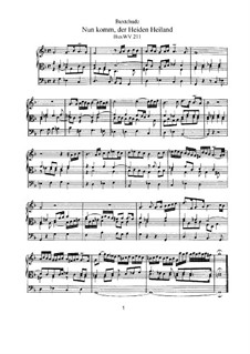 Choralpräludien und Magnificaten: Für Orgel, BuxWV 211-224 by Dietrich Buxtehude