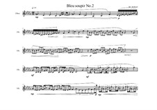 Piece for Oboe solo No.2, MVWV 868: Piece for Oboe solo No.2 by Maurice Verheul