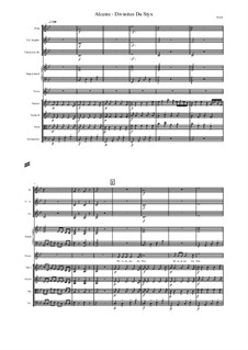 Alceste, Wq.44: Divinites Du Styx, score and parts by Christoph Willibald Gluck