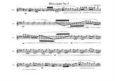 Piece for Oboe solo No.5, MVWV 871: Piece for Oboe solo No.5 by Maurice Verheul