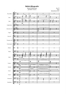 Ballett-Rhapsodie, Op.19: Ballett-Rhapsodie by Jürgen Pfaffenberger