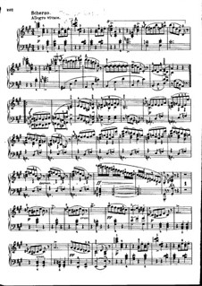 Sonate für Klavier Nr.20 in A-Dur, D.959: Teile III, IV by Franz Schubert