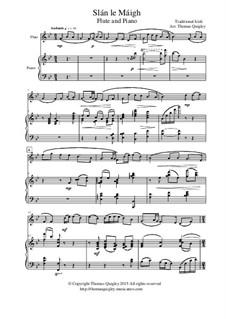 Slán le Máigh: Für Flöte und Piano by folklore