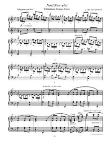 Noel Nouvelet: Für Klavier by folklore
