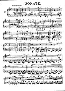 Sonate für Klavier Nr.21 in B-Dur, D.960: Teile I-II by Franz Schubert