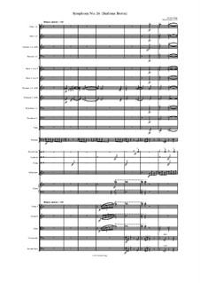 Symphony No.26 (Sinfonia Brevis): Symphony No.26 (Sinfonia Brevis) by Jordan Grigg