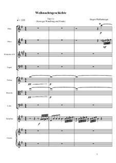 Die Weihnachtsgeschichte nach Charles Dickens: Scrooges Wandlung und Finale, Op.01.11 by Jürgen Pfaffenberger