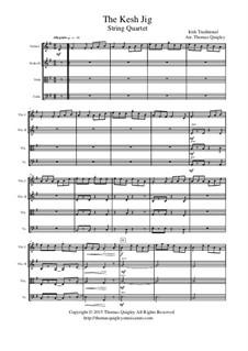 The Kesh Jig: Für Streichquartett by folklore