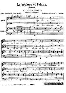 Vier Romanzen für Stimme und Klavier, Op.24: No.2 Birken by Johan Svendsen