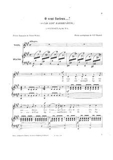 Vier Romanzen für Stimme und Klavier, Op.24: Nr.1 O vät lidt barmhjärtig by Johan Svendsen